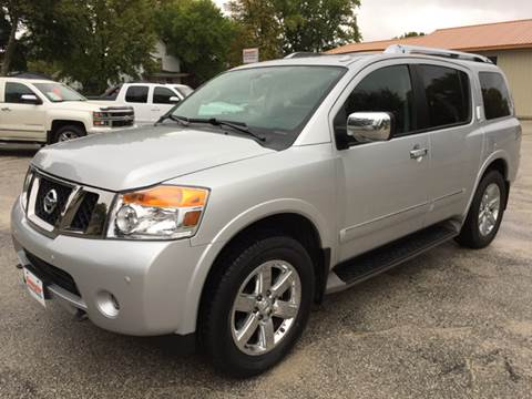 2013 Nissan Armada for sale in Webster City, IA