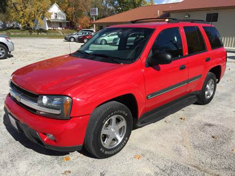 2002 Chevrolet TrailBlazer for sale in Webster City, IA