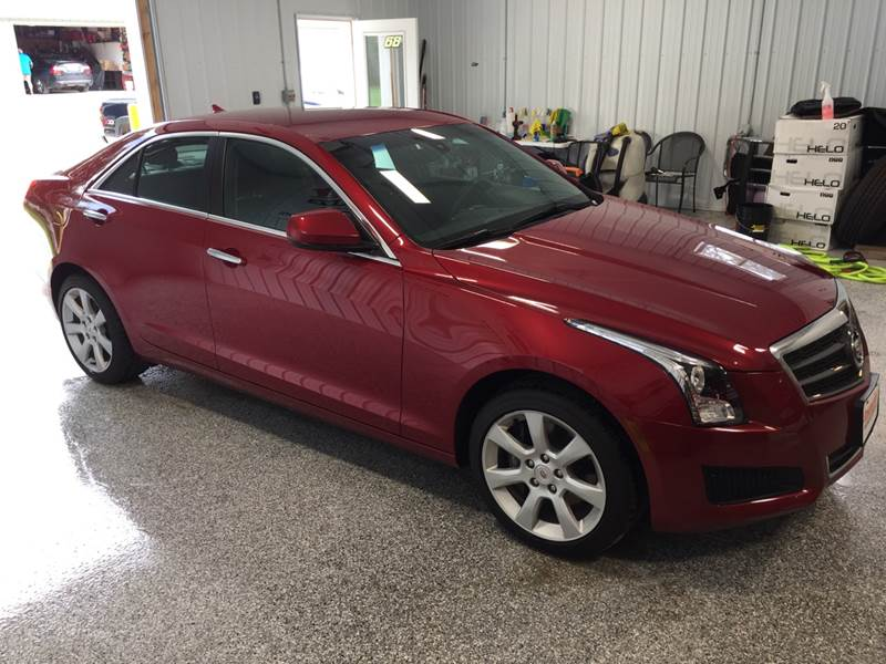2013 Cadillac Ats Awd 2 0t 4dr Sedan In Glidden Ia Spangler Automotive