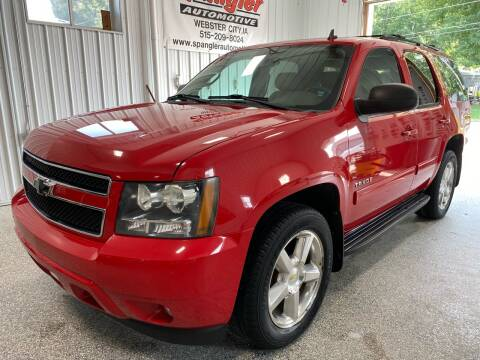 2011 Chevrolet Tahoe for sale at SPANGLER AUTOMOTIVE WC LLC in Webster City IA
