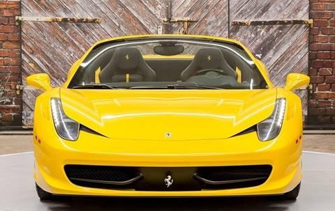 2013 Ferrari 458 Spider for sale in Houston, TX