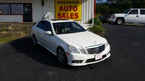 2010 Mercedes-Benz E-Class for sale in Greenwood, AR