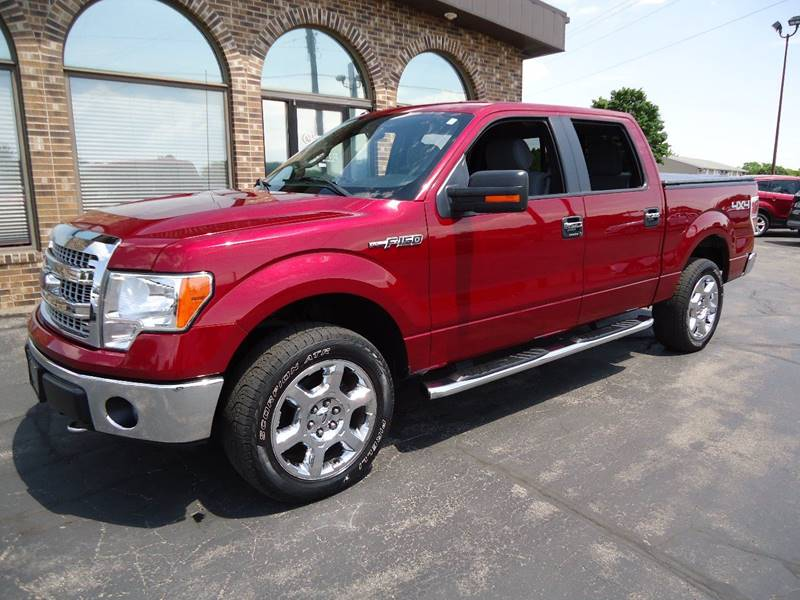 2014 Ford F-150 4x4 XLT 4dr SuperCrew Styleside 5.5 ft. SB - Platteville WI