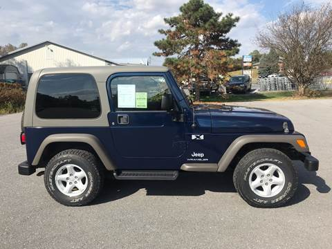 2005 Jeep Wrangler for sale in Waynesboro, PA