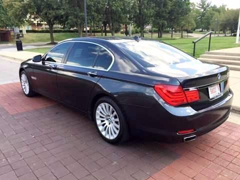 2010 BMW 7 Series AWD 750Li xDrive 4dr Sedan - Carmel IN