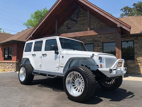 2013 Jeep Wrangler Unlimited for sale in Maryville, TN