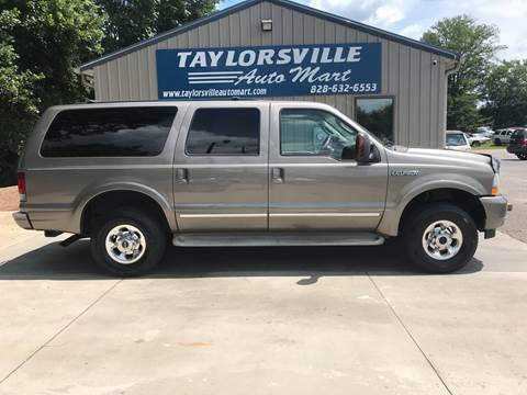 2004 Ford Excursion for sale in Taylorsville, NC