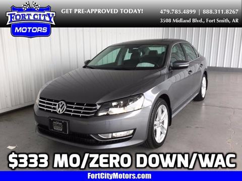 2015 Volkswagen Passat for sale in Fort Smith, AR