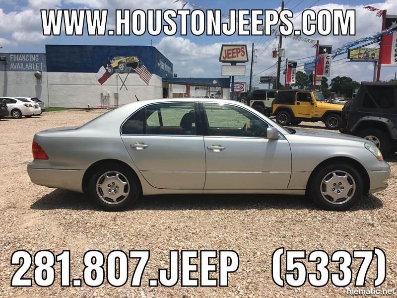 2002 Lexus LS 430 For Sale At SPRAUER MOTORSPORTS In Houston TX