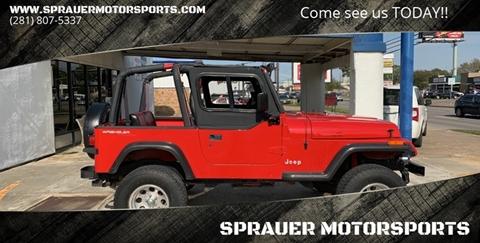 1995 Jeep Wrangler for sale in Houston, TX