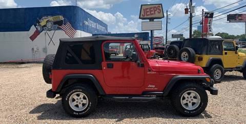 2005 Jeep Wrangler for sale in Houston, TX