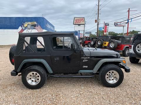 1999 Jeep Wrangler for sale in Houston, TX