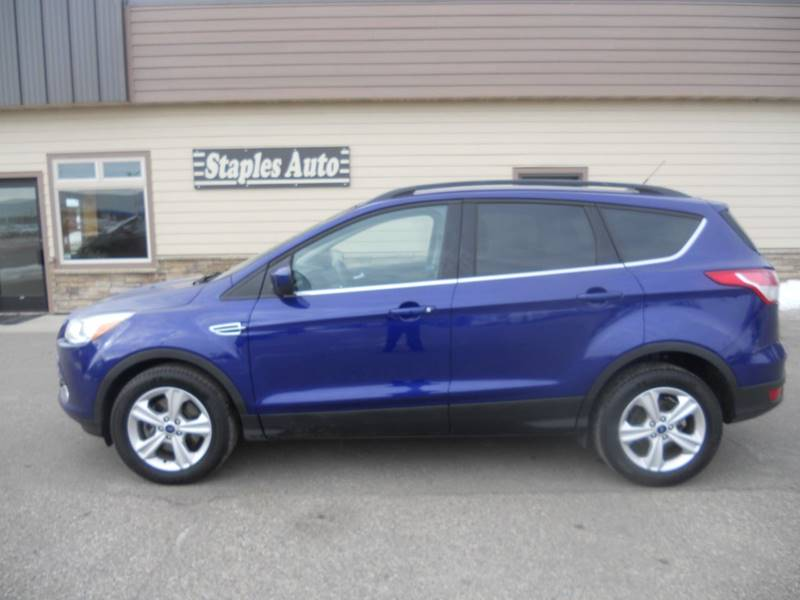2015 Ford Escape Awd Se 4dr Suv In Staples Mn Staples