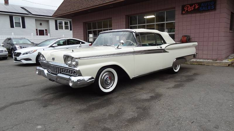 1959 ford galaxie 500 in west springfield ma pats auto sales. Black Bedroom Furniture Sets. Home Design Ideas