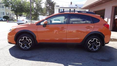 2014 Subaru XV Crosstrek for sale at Pat's Auto Sales in West Springfield MA