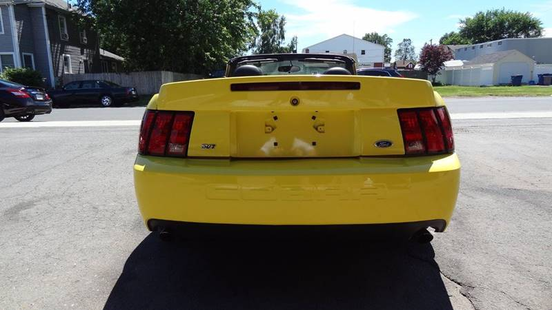 2003 Ford Mustang SVT Cobra for sale at Pat's Auto Sales in West Springfield MA