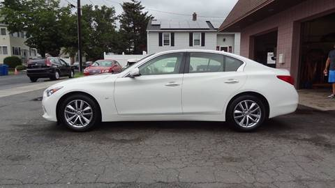 2014 Infiniti Q50 for sale at Pat's Auto Sales in West Springfield MA