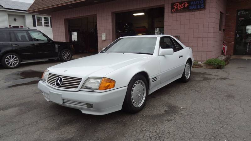 1990 Mercedes-Benz 500-Class for sale at Pat's Auto Sales in West Springfield MA