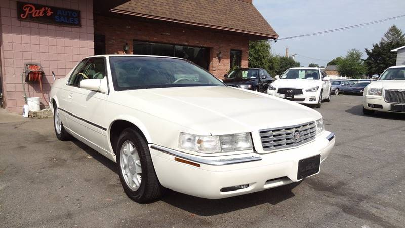 1998 Cadillac Eldorado for sale at Pat's Auto Sales in West Springfield MA