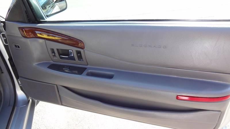 2001 Cadillac Eldorado for sale at Pat's Auto Sales in West Springfield MA