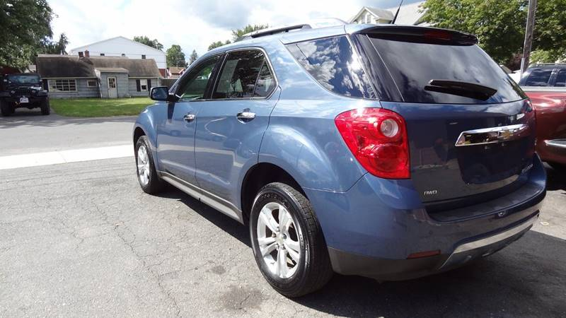 2012 Chevrolet Equinox for sale at Pat's Auto Sales in West Springfield MA