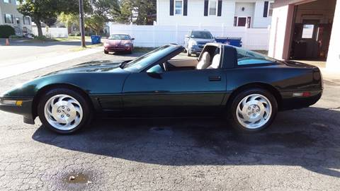 1995 Chevrolet Corvette for sale at Pat's Auto Sales in West Springfield MA