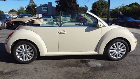 2010 Volkswagen New Beetle for sale at Pat's Auto Sales in West Springfield MA
