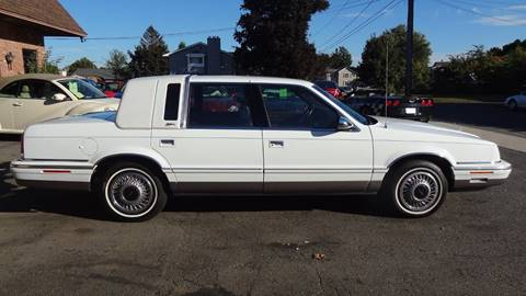 1992 Chrysler New Yorker for sale at Pat's Auto Sales in West Springfield MA