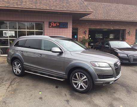2013 Audi Q7 for sale at Pat's Auto Sales, Inc. in West Springfield MA