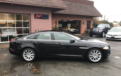 2013 Jaguar XJ for sale at Pat's Auto Sales, Inc. in West Springfield MA