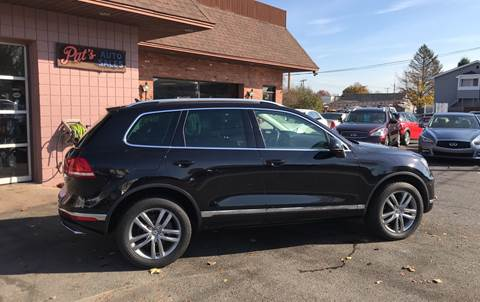 2015 Volkswagen Touareg for sale in West Springfield, MA