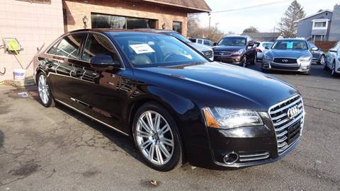 2014 Audi A8 L for sale at Pat's Auto Sales, Inc. in West Springfield MA