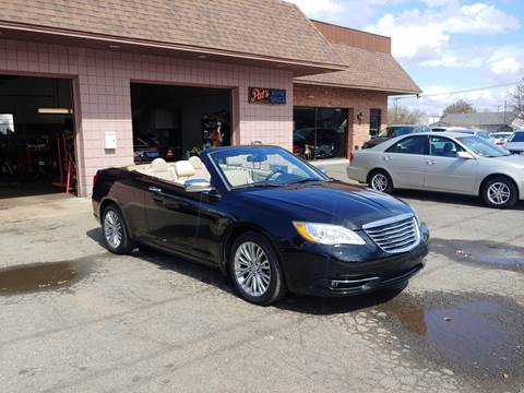 2012 Chrysler 200 Convertible for sale in West Springfield, MA