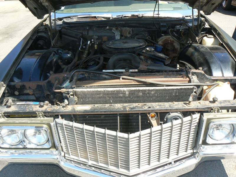 1970 Cadillac DeVille for sale at Pat's Auto Sales in West Springfield MA