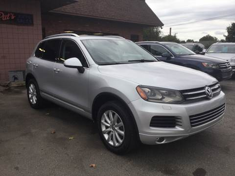 2012 Volkswagen Touareg for sale at Pat's Auto Sales, Inc. in West Springfield MA