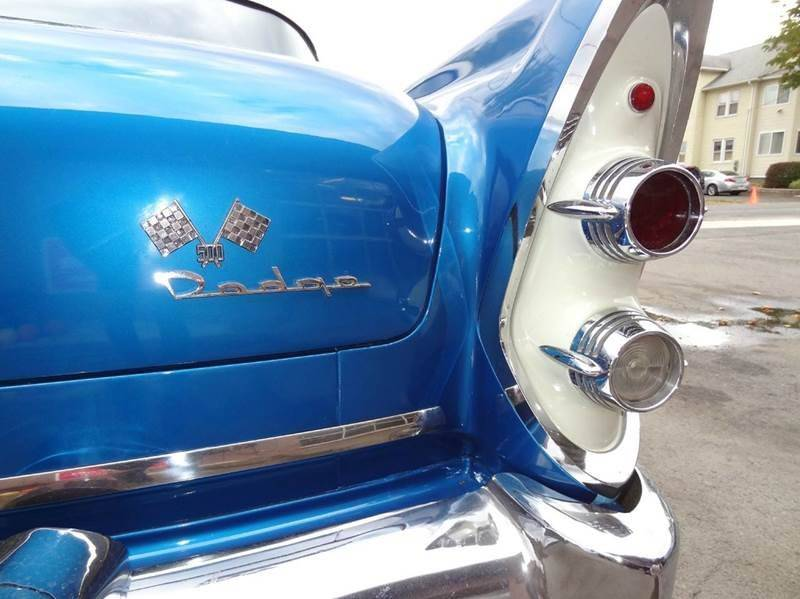 1956 Dodge Custom Royal Sedan for sale at Pat's Auto Sales in West Springfield MA