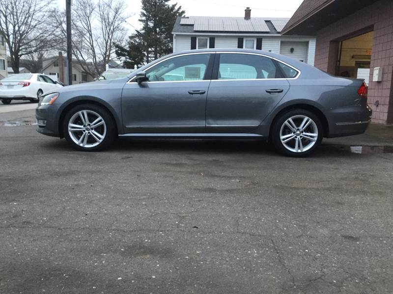 2014 Volkswagen Passat for sale at Pat's Auto Sales, Inc. in West Springfield MA