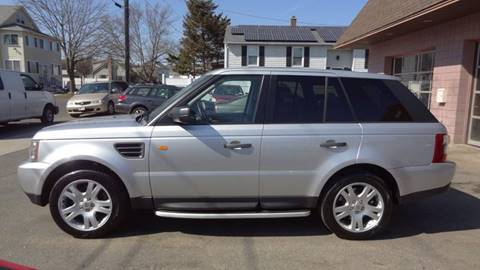 2006 Land Rover Range Rover Sport for sale at Pat's Auto Sales in West Springfield MA