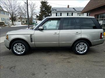 2012 Land Rover Range Rover for sale at Pat's Auto Sales in West Springfield MA