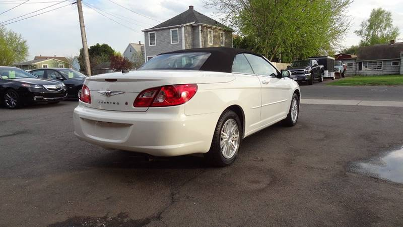 2008 Chrysler Sebring for sale at Pat's Auto Sales in West Springfield MA