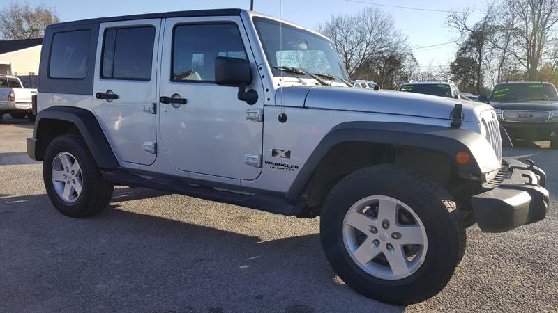 2007 Jeep Wrangler Unlimited For Sale At Rodgers Enterprises Of Summerville  Inc. In North Charleston