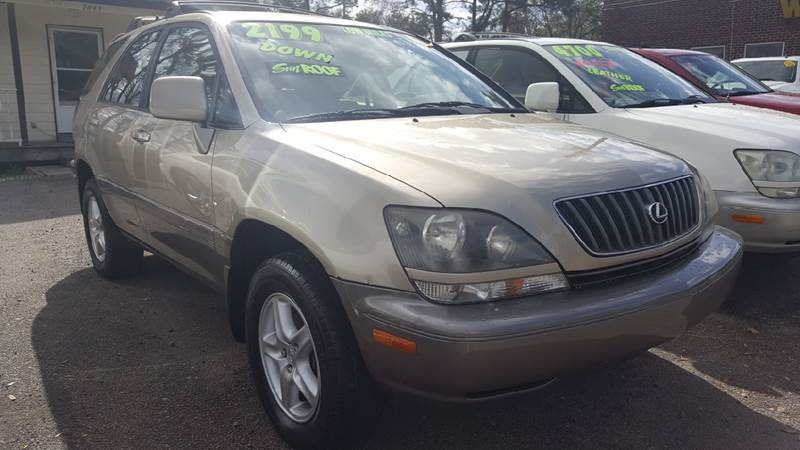1999 Lexus RX 300 For Sale At Rodgers Enterprises Of Summerville Inc. In  North Charleston