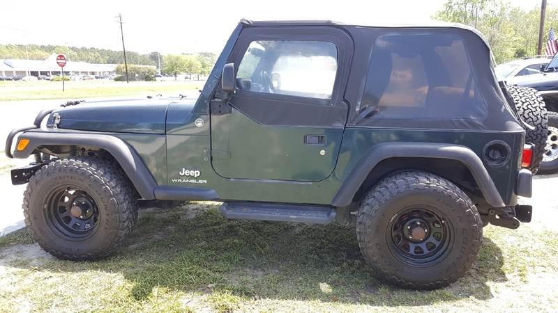 2006 Jeep Wrangler X In North Charleston Sc Rodgers