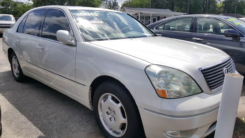 2002 Lexus LS 430 For Sale At Rodgers Enterprises Of Summerville Inc. In  North Charleston