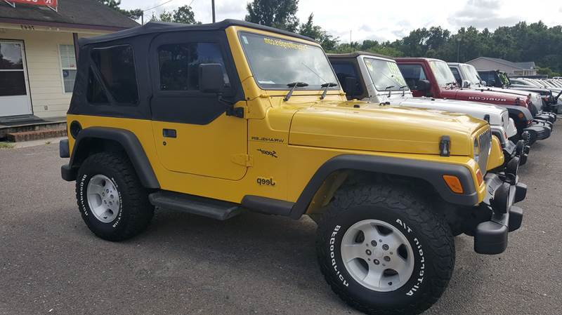 2002 Jeep Wrangler For Sale At Rodgers Enterprises Of Summerville Inc. In  North Charleston SC
