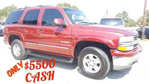 2003 Chevrolet Tahoe for sale in North Charleston, SC