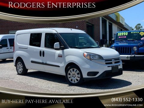 2017 RAM ProMaster City Cargo for sale at Rodgers Enterprises in North Charleston SC