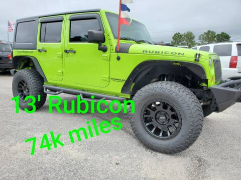 2013 Jeep Wrangler Unlimited for sale at Rodgers Enterprises in North Charleston SC