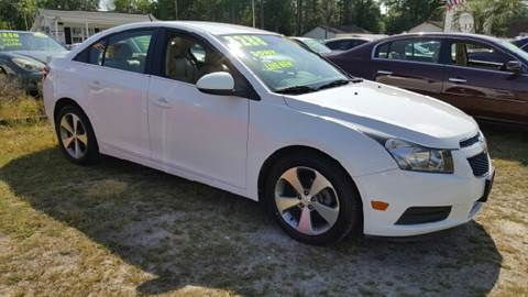2011 Chevrolet Cruze for sale at Rodgers Enterprises in North Charleston SC