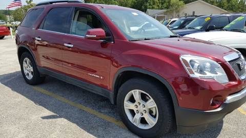 2008 GMC Acadia for sale at Rodgers Enterprises in North Charleston SC
